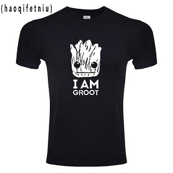 Groot T Shirts Tees Men Unisex X planet monarch Bounty Hunter Superhero Movie guardians of the galaxy Lovely COOL funny Novelty