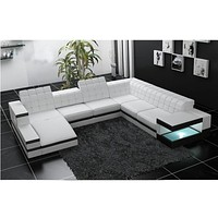 Rich Look Luxury Sectional Sofa Set