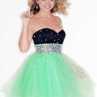 Mori Lee Sticks & Stones Dress 9203 at Peaches Boutique