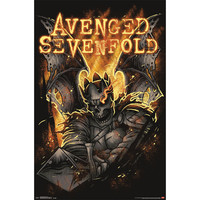 Avenged Sevenfold Domestic Poster