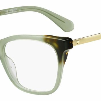 Kate Spade - Joelyn 51mm Green Eyeglasses / Demo Lenses