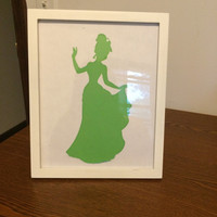 Princess Silhouette Picture Frame