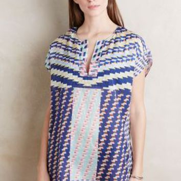 Patchwork Geo Cover-Up by Anthropologie in Assorted Size: