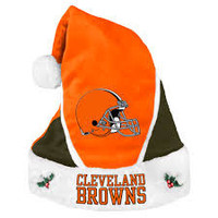 Cleveland Browns 2014 Colorblock Santa Hat