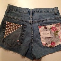 reworked vintage denim s...
