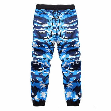 Sweatpants Camo Men Joggers Pants Casual Loose Military Streetwear Track Harem Pants Long Trousers Sportswear Tracksuit Autumn