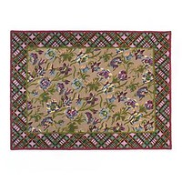 MacKenzie-Childs - Plaid Bouquet Rug - 8' x 10'