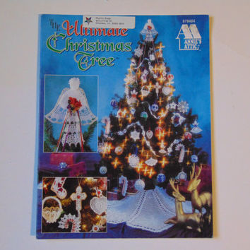 The Ultimate Christmas Tree Thread to Crochet Pattern Book Annies attic 979404