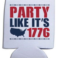 'Party Like It's 1776' Koozie