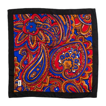 Yves Saint Laurent Silk Scarf