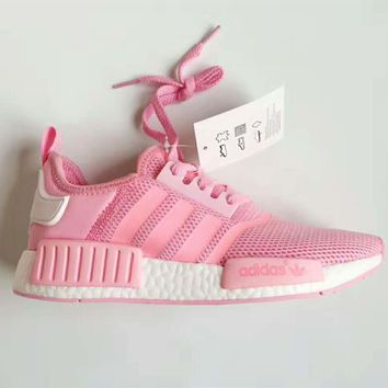 [Special offer] Adidas NMD Girl Pink Trending Running Sports Shoes
