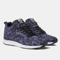 Gourmet The 35 Lite SP Shoes - Blue Leopard/White | Urban Industry