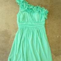 Lovely Mint Julep Dress [2295] - $42.00 : Vintage Inspired Clothing & Affordable Dresses, deloom | Modern. Vintage. Crafted.
