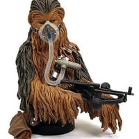 Chewbacca Mynock Hunt Mini Bust