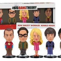 Big Bang Theory Bobblehead Mini Wackly Wobblers - Collection of 5 Hilarious Bobbleheads!  - Whimsical & Unique Gift Ideas for the Coolest Gift Givers