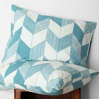 Assembly Home Adele Chevron Pillowcase Set