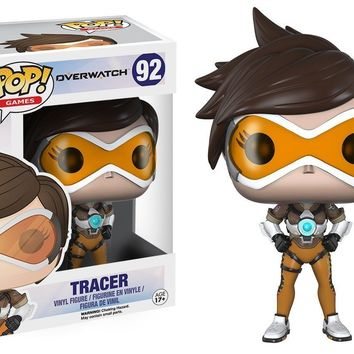 "Funko Pop Overwatch Tracer 3.75"" Vinyl Figure"