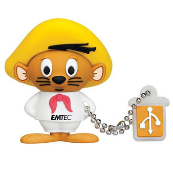 EMTEC Looney Tunes 4 GB USB 2.0 Flash Drive, Speedy Gonzales
