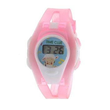 Boy Girl Student Sport Time Electronic Digital LCD Wrist Watch