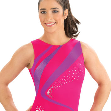 Aly Lipstick Crush Leotard from GK Elite