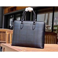 BURBERRY MEN'S NEW STYLE LEATHER CASUAL BRIEFCASE BAG