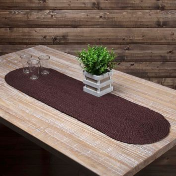 Burgundy Jute Table Runners