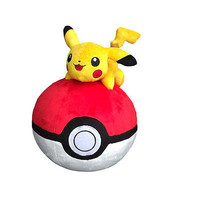 Pokemon Pokeball Plush Toy Japanese Hot Anime Pokemon PokeBall Toys Cosplay Collections Gifts Pokemons Cute Pokeballs 9in/24cm