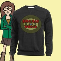 UNISEX Sick Sad World MTV 90s Daria Sweatshirt.