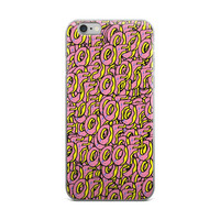 Tyler The Creator OFWGKTA Golf Wang Odd Future OF Donuts Pink & Yellow iPhone 4 4s 5 5s 5C 6 6s 6 Plus 6s Plus 7 & 7 Plus Case