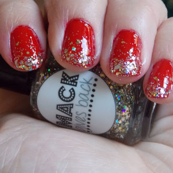 Tinsel  Full Size 5oz/15ml Glitter Nail Polish by MackGivesBack