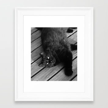 White Framed Collection By ART ELISA ELISA HOPP | Society6