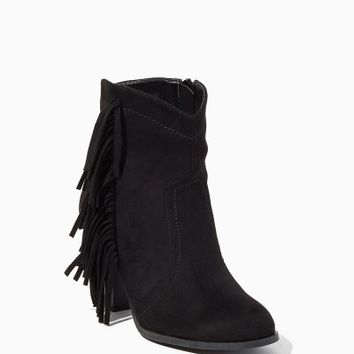Laura Side Fringe Booties | Fashion Shoes - Boots | charming charlie