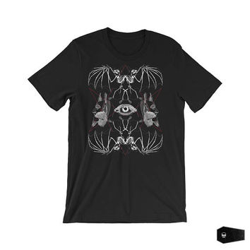 nu goth, goth clothing, soft grunge, gothic shirt, abstract art, grunge shirt, surreal art, occult art, esoteric art | Blood Machine