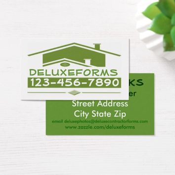 Green Roof Business Card