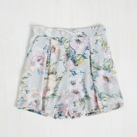 Painterly Prose Shorts | Mod Retro Vintage Shorts | ModCloth.com