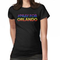 Pray For Orlando T-Shirt by angelshirt