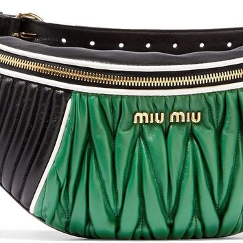 Miu Miu Rider Green Belt Bag