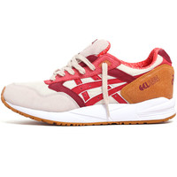 Gel-Saga Sneakers Off White / Red