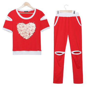 Love Heart Tracksuit