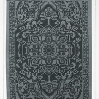 Tapis Aegean 5x7 gris - Urban Outfitters