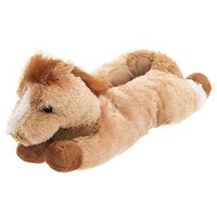 Wishpets Beige Horse Animal Slippers