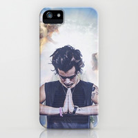 Heavenly Harry iPhone & iPod Case by rebelmermaid