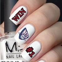 Brooklyn Nets Basketball nail decal 50pcs