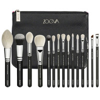 New Arrival ZOEVA 15PCS Luxe Complete Makeup Brush Set Include Eye Fae Brush