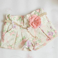 Children's Shorts 2015 Fashion Flower Shorts Child Clothing Wear Summer Shorts Children Casual Pants Girls Cute Lace Shorts Kids Pants.