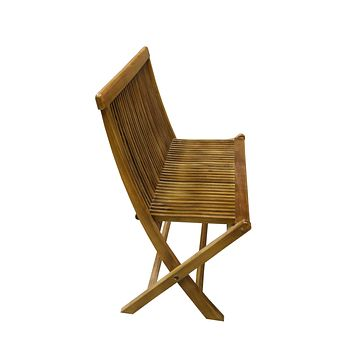 Ala Teak Wood indoor Outdoor Patio Garden Yard Folding Chair Seat Teak Chair