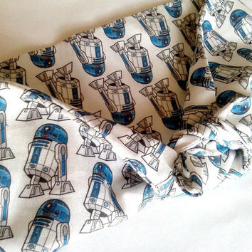 Star Wars R2D2 Bandana, Headwrap, Geekery