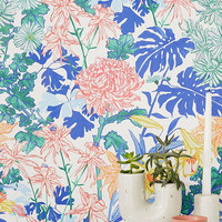 Laurel Kimono Floral Removable Wallpaper | Urban Outfitters