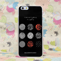 Twenty One Pilots Phone Case For iPhone 4 4s 5 5s SE 5C 6 6s Plus