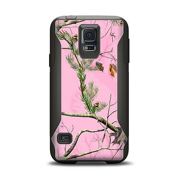 The Pink Real Camouflage Samsung Galaxy S5 Otterbox Commuter Case Skin Set